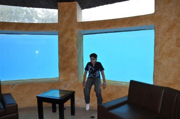 Aqua Room with AC